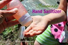 Homemade Hand Sanitizer