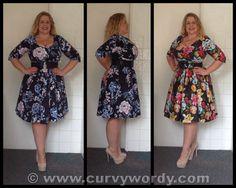 City Chic Wild Floral Dress & Wild Crane Dress http://www.curvywordy.com/2014/08/city-chic-wild-floral-dress-and-wild.html