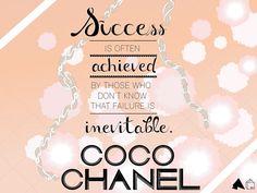 Coco Chanel #wordstoliveby | Designer Desktops: March 2012  #chanel #quotes #typography #designer #desktop