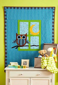 Another owl quilt! I need to make one.