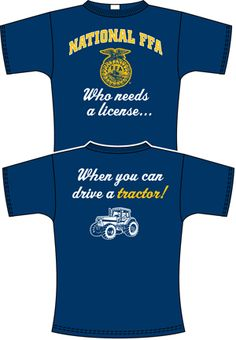 Ffa shirt ideas on pinterest 32 pins for Ffa t shirt design
