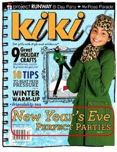 PRESS: Kiki Magazine New Year's Editorial! by Bird's Party