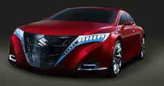 2011 Suzuki Kizashi Concept - If Suzuki production cars looked like this, I might give them a second look...