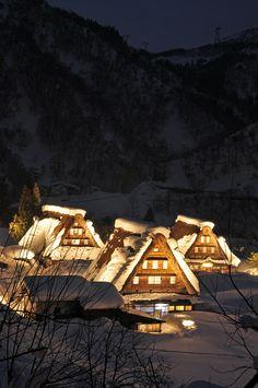 eastern view, favorit place, alpin villag, winter, heritag, beauti japan, asia, travel, shirakawa villag