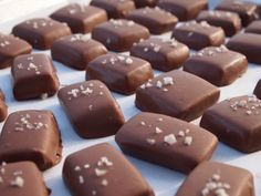 My Girlfriend's Best Recipes: Salted Caramel Chocolates