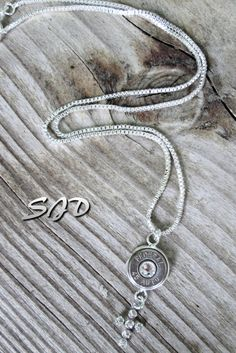Someone buy me this Bullets and BlessingsNecklaceSterling by Sarahsjewelrydesigns, $59.99