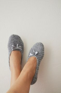 What color do you like ribbon  Grey Healthy Booties by NesrinArt, $20.00