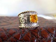 Travis Stringer Western Wedding Ring #124 Find us on Facebook!!