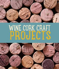 DIY Wine Cork Crafts and Cool Craft Ideas using wine corks #DIYReady