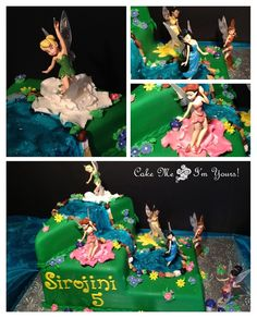 Tinkerbell Disney Fairy Cake | Flickr - Photo Sharing!