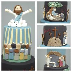Amazing #cake featuring the life of #jesus entered in the #sydney #royal #easter #show #2012 found on The Cupcake Gallery facebook page 2 of 2