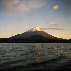 sunset of Mt. Fuji, Japan