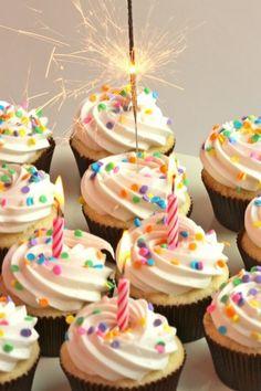 birthday cupcakes!!!