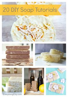 20 DIY Soap Tutorials {Handmade Gift Ideas} - EverythingEtsy.com #diy