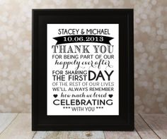 Wedding Thank You Card with The Bride and by OurHobbyToYourHome, $14.00