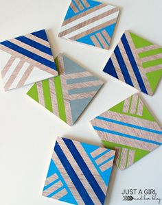 anthropologie-knockoff-plywood-coasters