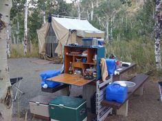 Camp kitchens & chuck boxes