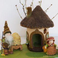 Felt Gnome Home