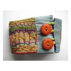 Hand Embroidered MultiColored Cuff with by MadrigalEmbroidery