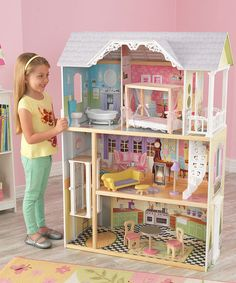 This Kayleigh Dollhouse is perfect! #zulilyfinds