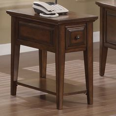 Have to have it. Riverside Hilborne Chairside Table - $294.75 @hayneedle