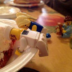 """""""Audrey, I  always eat Dessert first."""""""