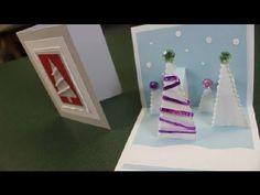 Homemade Christmas card - video