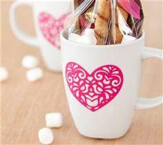 Create a one of a kind mug using vinyl!