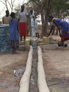 In conjunction with our national director in Sudan and local partners in Sudan, Mocha Club provides clean water to the people of Jach, a Darfur refugee community. Three years ago, there was virtually no access to clean water. Now, thanks to Mocha Club members, there are now 36 wells that supply fresh water to a community of 90,000 refugees spanning over 100 miles!