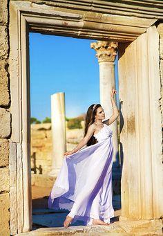 Greek Wedding dress #greek goddess