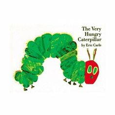 (10) BOOK: The Very Hungry Caterpillar #WorldEricCarle #HungryCaterpillar