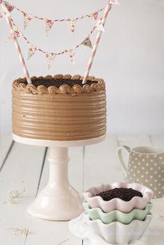 Tarta de chocolate y Nutella