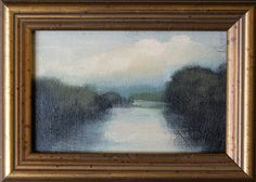Robert MaGaw - AMAZING Landscape Artist - simply the best!! High Summer On the River, 4x6 -SOLD by Broadfoot & Broadfoot, A Collection of Fine Art, via Flickr