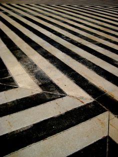 Stripes underfoot, via dirkashlyknoedler