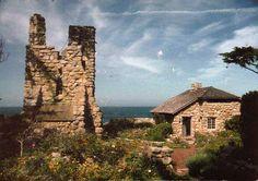 Hawk Tower & Tor House - Robinson & Una Jeffers - Carmel, Ca