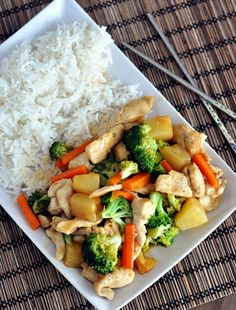 Mel's Kitchen Cafe | Teriyaki Chicken Stir-Fry {30-Minute Meal}