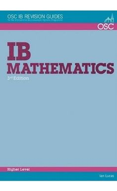 This book covers the syllabus for exams from 2014 onwards. Each topic is carefully explained in a way that enables students to answer exam questions. ISBN: 9781907374555