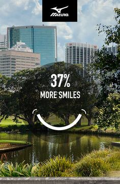 #Mizuno believes #running is powerful. So we commissioned a statistical analysis to find out what the world could look like if everybody ran. 37% more smiles is just one awesome possibility. The rest of the results may surprise you. #IfEverybodyRan