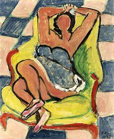 """Henri Matisse: """"Le Repos De La Danseuse"""",1942."""