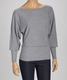 Gray Favorite Cozy Sweater