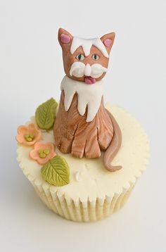 Kitty Cat Cupcake