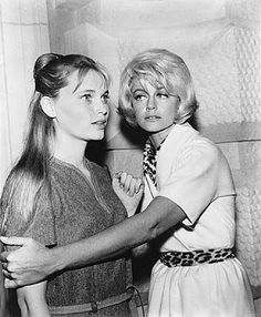 'Allison and Constance' Mia Farrow and Dorothy Malone Peyton Place Television Series