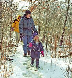 family photo hiking