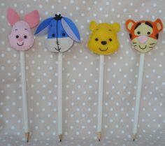 Ponteira de lápis - Ursinho Pooh