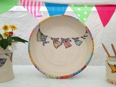 Ceramics at #Toronto Outdoor #Art Exhibit via http://lifeovereasy.com/ #tableware #ceramics
