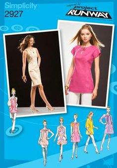 Pattern: Simplicity Project Runway 2927  Size: 12-20  Availability: OOP  Condition: Uncut, Factory Folded  Swapper: Konnie Kapow  Will swap for: patterns, fabric,trims/ notions, buttons, books and more...