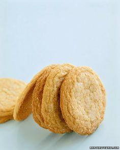 Old-Fashioned Sugar Cookies - Martha Stewart Recipes