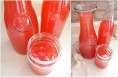 mixed juice tropical drink recipe!