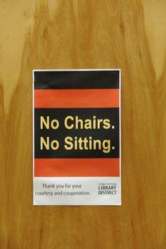 Passive Aggressive Library Sign #8