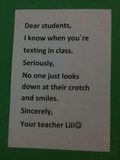 Dear Students - your caught! :-)